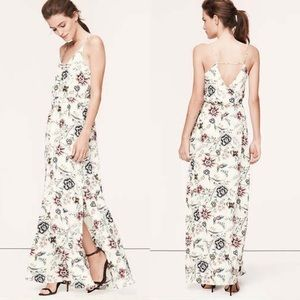 LOFT Wallpaper Maxi Dress
